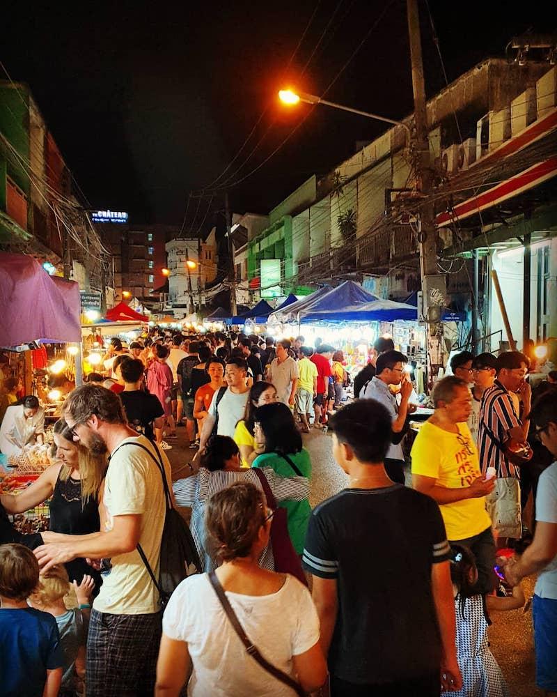 Wualai Walking Street Chiang Mai