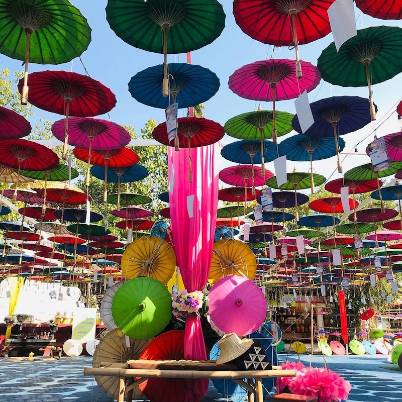 Sankampaeng Craft Street Chiang Mai