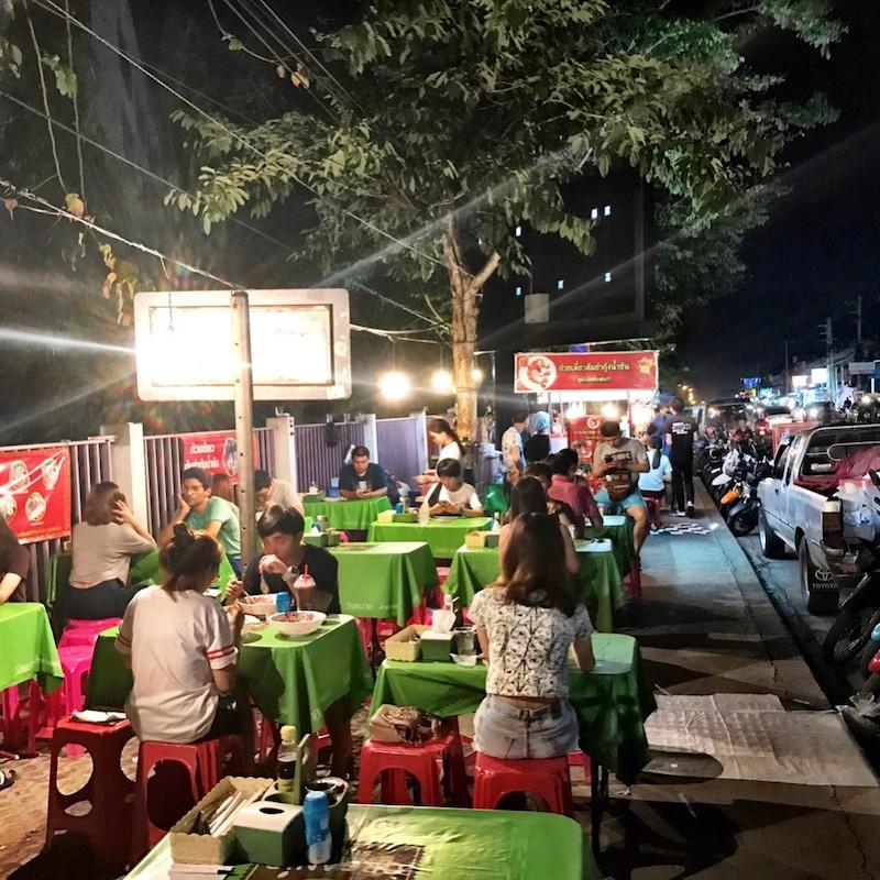 Suthep Road Moveable Feast Chiang Mai