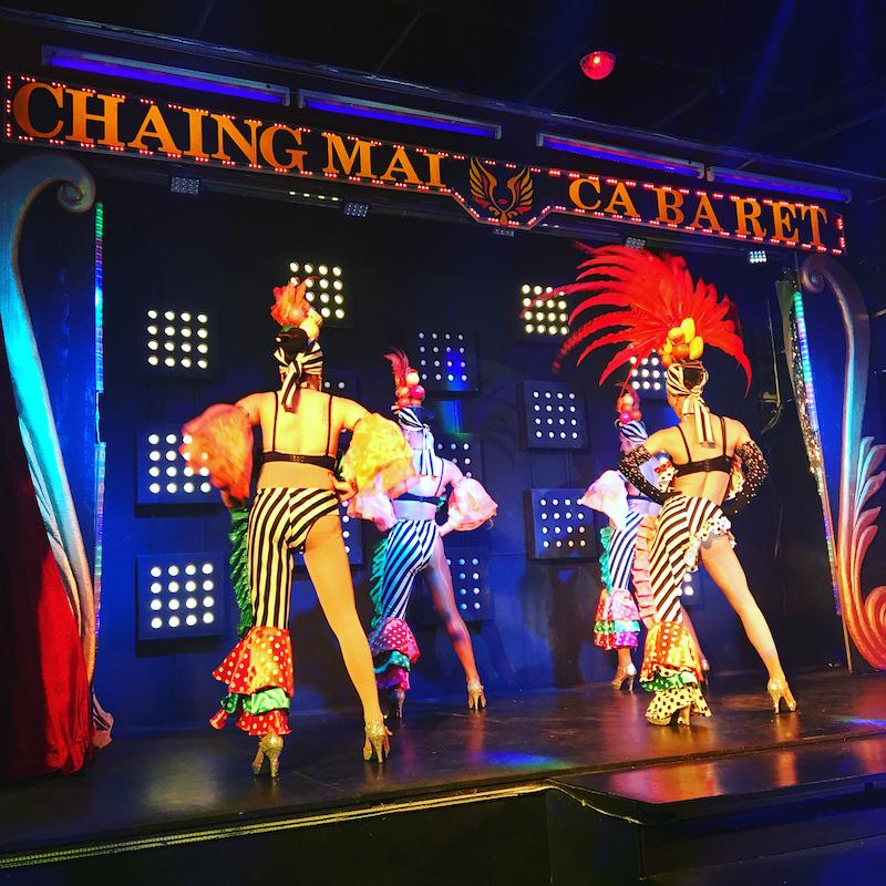 Chiang Mai ladyboy cabaret show