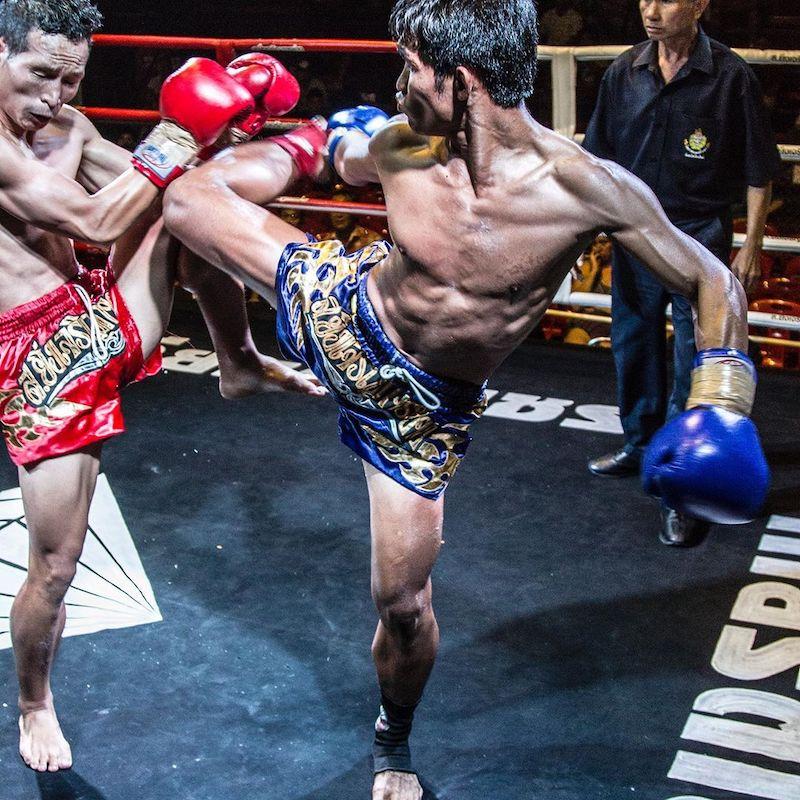 Chiang Mai Muay Thai fight