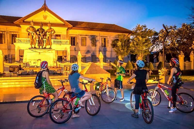 Historic Chiang Mai Bike Tour