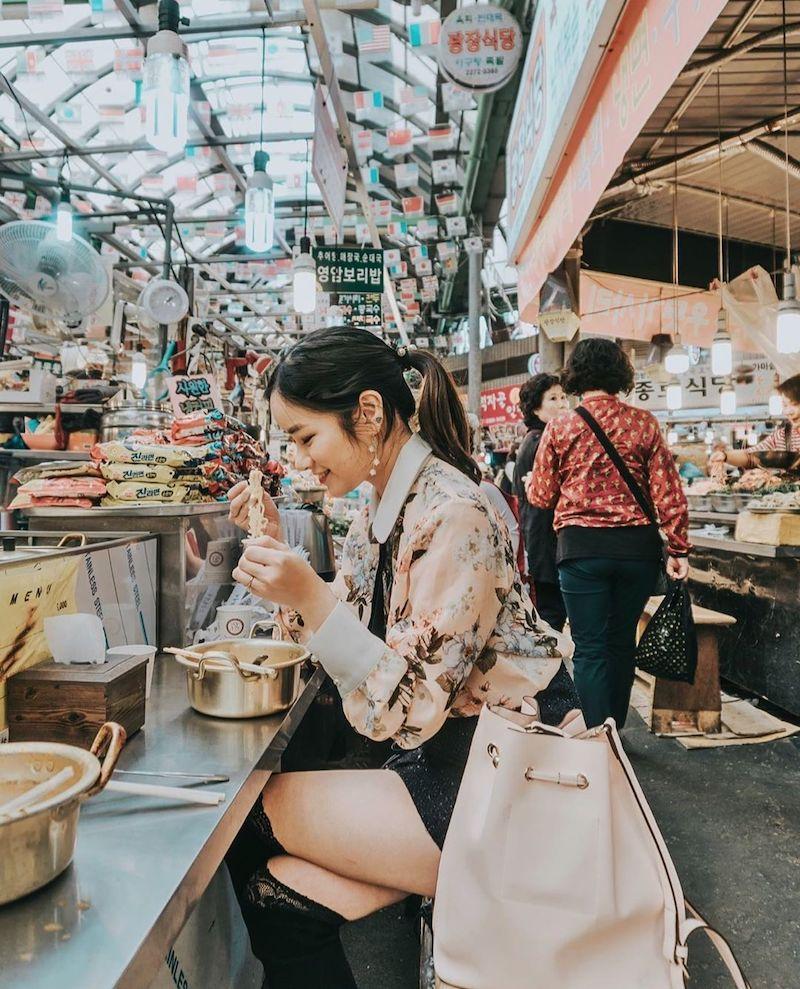 Gwangjang Market Jeon Street