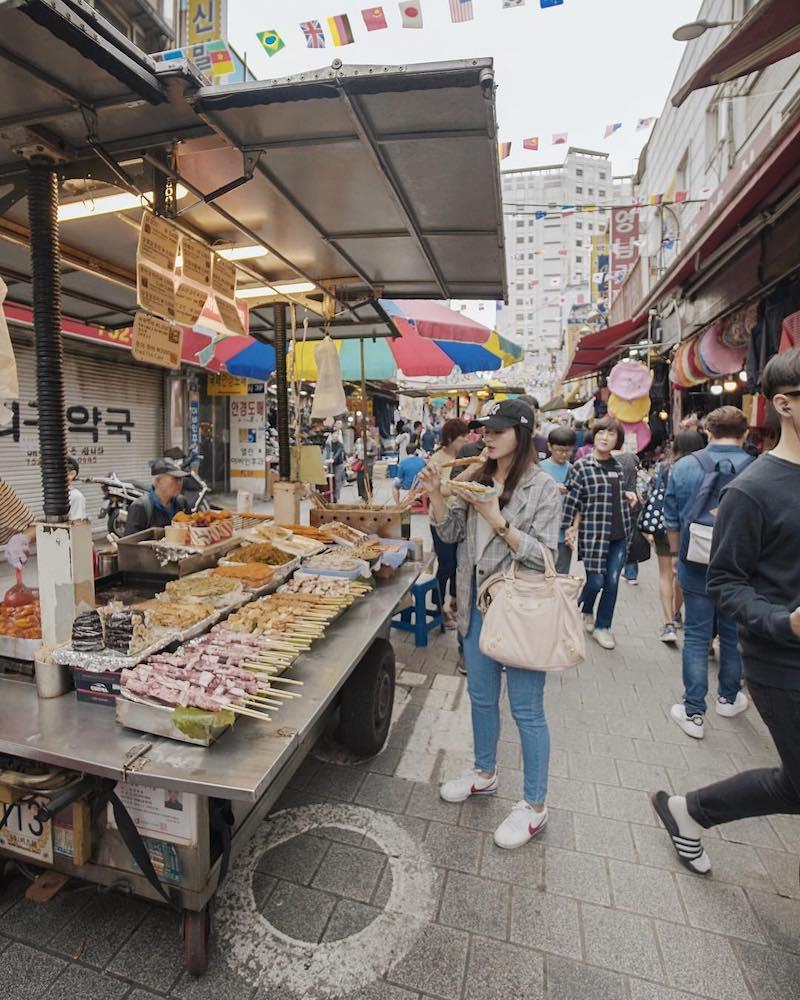 Namdaemun Market's Kalguksu Alley & Galchi Alley