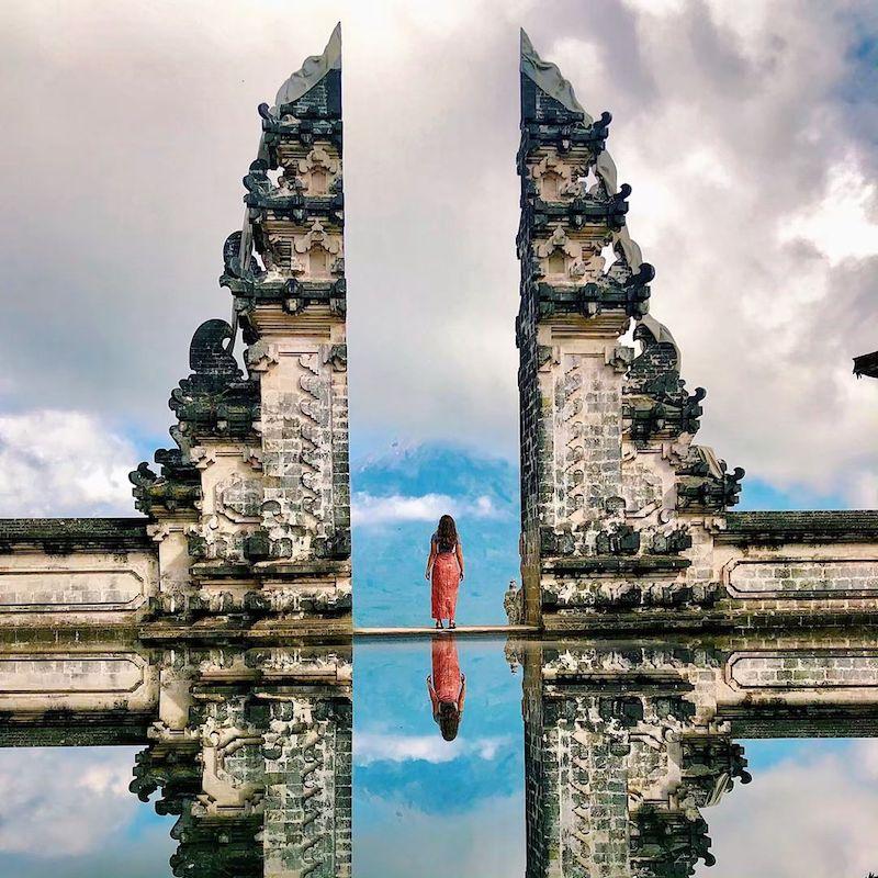 The Gates of Heaven Lempuyang Temple